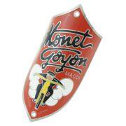 Emblema plaqueta para bicicleta modelo Monet Goyon