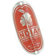 Emblema plaqueta para bicicleta modelo Indian