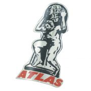 Emblema plaqueta para bicicleta modelo Atlas
