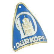 Emblema plaqueta para bicicleta modelo Durkopp