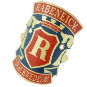 Emblema plaqueta para bicicleta modelo Rabeneick