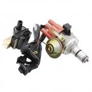 Kit distribuidor de ignição eletrônica e bobina sistema Hall para VW Fusca e Kombi