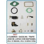 Kit de reparo do carburador Holley Argentino 4 cil. para Trafic