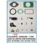 Kit de reparo do carburador Holley Argentino 6 cil. para F1000