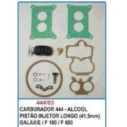 Kit de reparo do carburador DFV Weber 444 para Galaxie Landau, F100 e F600
