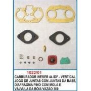 Kit de reparo do carburador Weber 44 IDF - Vertical