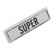 Emblema lateral modelo Super para Ford Maverick