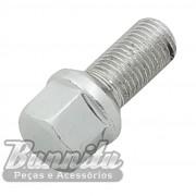 Parafuso 19 mm cromado de fixação da roda 4 furos para VW Fusca, Kombi, Brasília, TL...