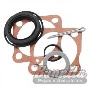 Kit de vedador da roda traseira para VW Fusca, Brasília, Variant, TL, Karmann Ghia e TC