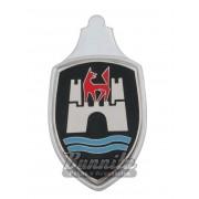 Emblema Brasão do capo Mod. Americano, Mexicano para VW Fusca até 1966