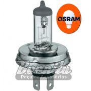 Lâmpada Halógena Osram para fárois H5 12V 100/80 Watts