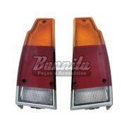 Lanterna traseira tricolor Original Cibié com ré grande para VW Parati