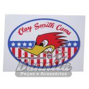 Adesivo para vidro modelo Clay Smith Cams - Mr. Horsepower