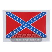 Adesivo para vidro modelo Bandeira dos Confederados - General Lee