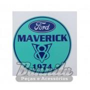 Adesivo modelo Ford Maverick V8 1974