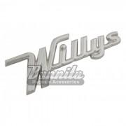 Emblema Willys para linha Aero Willys
