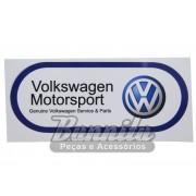 Adesivo modelo Volkswagen MotorSport - Genuine Volkswagen Service & Parts