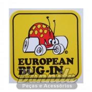 Adesivo modelo - European Bug-In