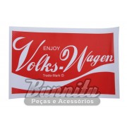 Adesivo modelo - Enjoy Volks-Wagen