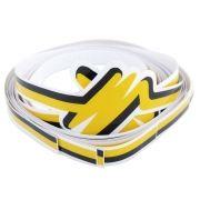 Adesivo filete da lateral para VW Fusca 1993 à 1996 na cor amarela