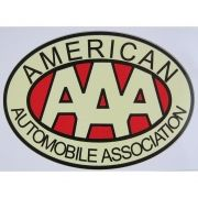 Adesivo modelo AAA - American Automobile Association