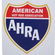 Adesivo modelo AHRA American Hot Rod Associantion