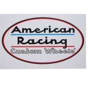 Adesivo modelo American Racing - Custom Wheels