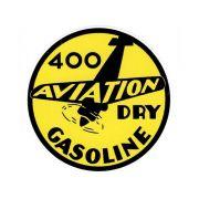 Adesivo modelo Aviation dry gasoline