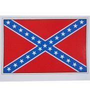 Adesivo modelo Bandeira dos Confederados - General Lee