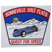Adesivo modelo Bonneville Salt Flats - Quest for Speed