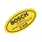 Adesivo Modelo Bosch Germany 6 Volts Bobina Ignição VW Fusca Kombi Porsche