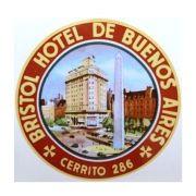 Adesivo modelo - Bristol Hotel de Buenos Aires - Cerrito 286