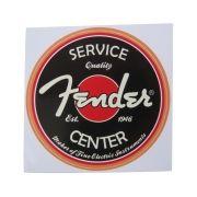Adesivo modelo Fender Service Center