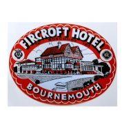 Adesivo modelo - Fircroft Hotel - Bournemouth