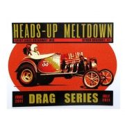 Adesivo modelo - Heads-Up Meltdown Dragon Series