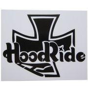 Adesivo modelo Hood Ride Cruz de Malta