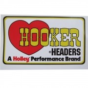 Adesivo modelo Hooker Headers by Holley Performance Brand