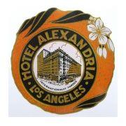 Adesivo modelo - Hotel Alexandria - Los Angeles