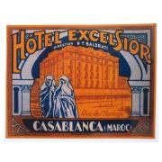 Adesivo modelo - Hôtel Excelsior - Casa Blanca