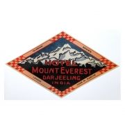 Adesivo modelo - Hotel Mount Everest - Darjeeling India