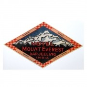 Adesivo modelo - Hotel Mount Everest - Darjeeling India