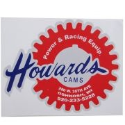 Adesivo modelo Howards Cams Power & Racing Equipped