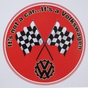 Adesivo modelo It´s not a car...It´s a Volkswagen