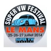 Adesivo modelo - Le Mans Super VW Festival