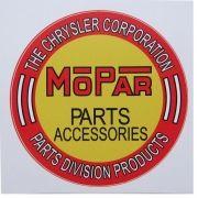 Adesivo modelo Mopar Parts Accessories