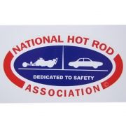 Adesivo modelo National Hot Rod Association - Dedicated to Safety