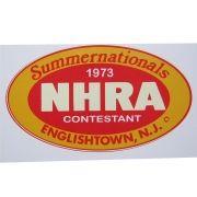 Adesivo modelo NHRA Summernationals Englishtown, N.J
