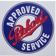 Adesivo modelo Packard Approved Service