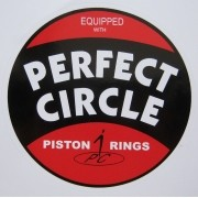 Adesivo modelo Perfect Circle Equipped With Piston Rings
