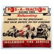 Adesivo modelo - Pos - A - Traction Racing Tires